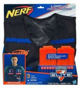 Nerf N-Strike Elite Tactical Vest £8.99 @ Toys R Us