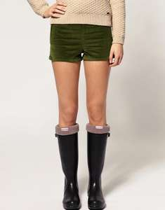Ladies Hunter Fleece Welly Socks (Charcoal), Size Large (shoe size 6-8) £9.00 @ ASOS