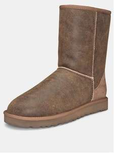 Mens Classic short ugg bomber boots £28 at kandco