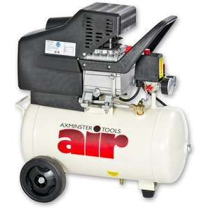 Air Compressor 240V 24L tank 8 Bar AWC20HP @ Axminster £79.96