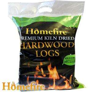 Homefire Premium Hardwood Kiln Dried Logs 10kg £3.99 @ Home Bargains