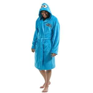 Cookie Moster Dressing gown back down to £14.99! - Play.com