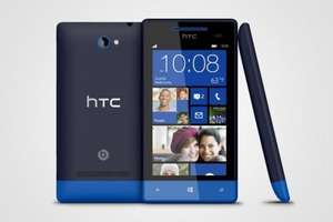 HTC Windows Phone 8S - £179.99 (plus £10 or £15 top up) on Three