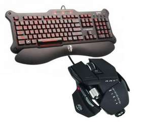 CYBORG R.A.T. 5 Gaming Mouse & V5 Gaming Keyboard £69.99 @ PC World