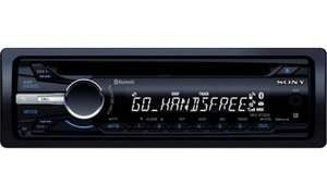 Sony MEX-BT3000 CD Radio with Bluetooth, MP3 £79.99 was £259.99 @ Halfords