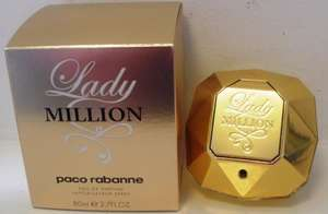 Lady Million Paco Rabanne EDP CHEAP ARGOS!! 80ML !! £42.49 !!!