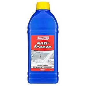 Anti-freeze at poundland