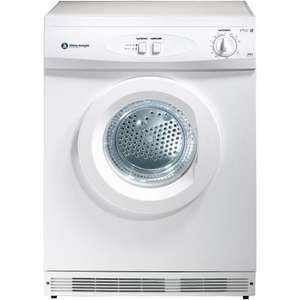 White Knight 44AW Vented 6kg C Rated Tumble Dryer - £129 @ Tesco Direct
