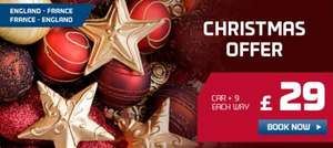 Ferry to France this Christmas now only £29 each way! @ DFDS