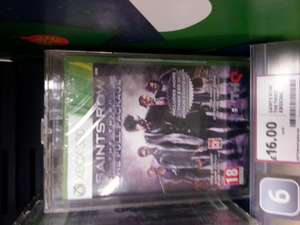 Saints Row: The Third 'Full Package' Edition @ Tesco - £16