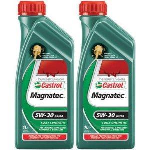 Castrol magnitec 2 litres 5w30 £4.50 @ tesco petrol station