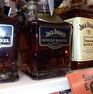 Jack Daniels Single Barrel Whiskey 70cl £28.49 at Sainsburys in store