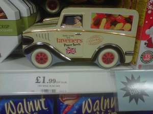 Taveners Wine Gums in tin van £1.99 @Home Bargains