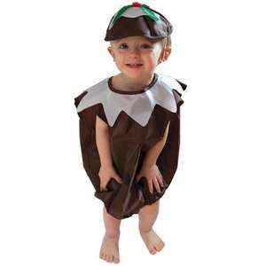 KIDS CHRISTMAS PUDDING OUTFIT ONLY A £1.00 AT POUNDLAND!