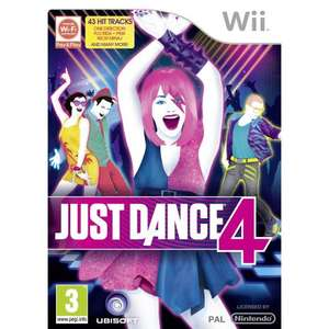 Just Dance 4 - Nintendo Wii - £18 FREE P&P @ Amazon