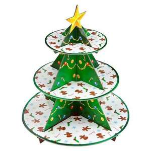 Christmas Tree Cupcake Stand £1 @ Poundland