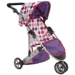 Mamas and Papas Kids Luna Dolls Pram in Sugar Spot (rrp£39.99) £13.52 del @ Amazon