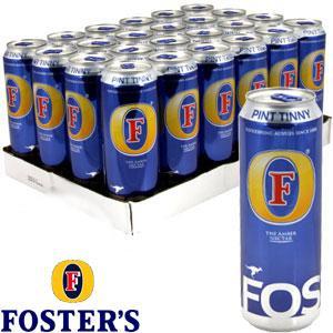 20 cans Foster £11 @ Asda