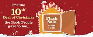 FLASH SALE @ THEBOOKPEOPLE - could be mega savings from 10am??