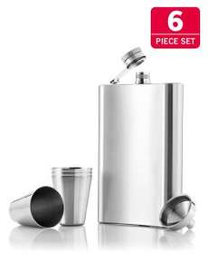 Hip Flask - 6 Piece Set @ Lidl