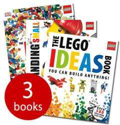 The Ultimate Lego Ideas Collection - 3 Books £7.49 delivered @ The Book People