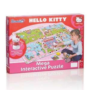 Mega Interactive Puzzle. Hello Kitty, Ben 10 or Sponge Bob £7.99 from 17th @ Lidl