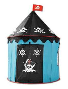 Play Tent, pirate or princess from £11.99 17th @ Lidl