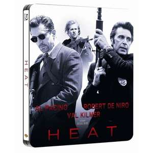 Heat Steelbook BLU RAY £7.99 @ Play.Com