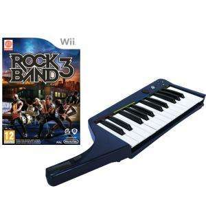 Rock Band 3 with Wireless Keyboard Nintendo Wii £19.95 Was £99.99 Zavvi