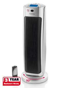 Remote controlled Ceramic Tower Heater - Lidl £29.99 - 3yr Warranty