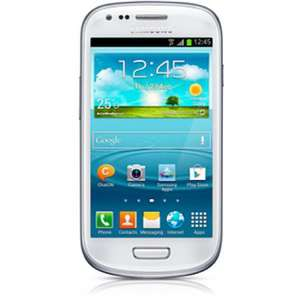 Samsung Galaxy S3 mini, 18 month contract, 100 mins, 500 texts, 250mb data and £60 Automatic Cashback for £20.50 a month on T-Mobile. Also possible £27 Quidco from One Stop Phone Shop