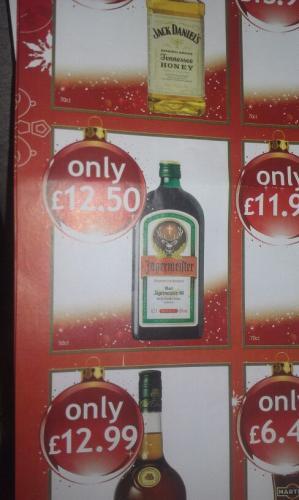 50Cl Jagermeister £12.50 @Costcutter & Nisa