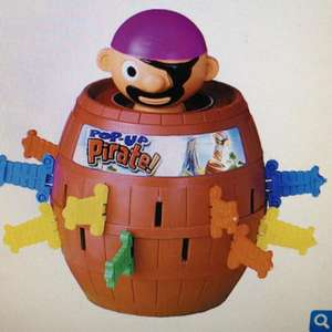 Tomy Pop Up Pirate £7.50 @ TheToyShop (back in stock today)