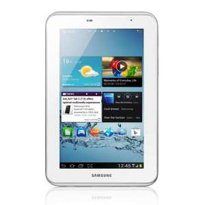 3G Samsung Galaxy Tab2 7 inch Tablet - White 8GB, now £164.40 + £30 cashback @ amazon