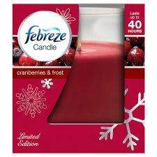 Febreze Candle, Cranberries & Frost 50% Off @ Sainsburys now £2.00