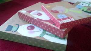 10 Gift Boxes from Poundland £1 in store