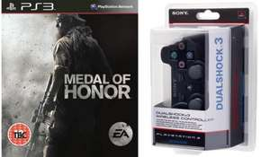 Sony Dualshock 3 + Medal of Honor - £32.91 @ PC World - Order and Collect in-store