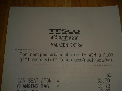 MAMAS & PAPAS ATON CAR SEAT WAS £130 NOW £32.50 INSTORE WALKDEN