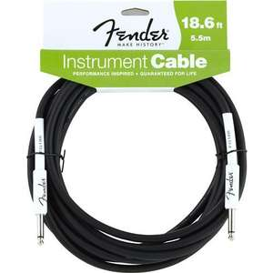 Fender Performance Series 18 ft Guitar / Instrument Cable £4.99 + £1.00 delivery (free if order over £25) @ Stringsdirect