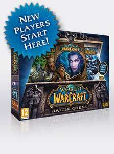 World of Warcraft and expansion christmas sale from £4 @ Blizzard