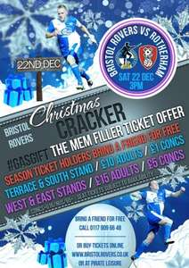 Bristol Rovers vs Rotherham United - Ticket Offer