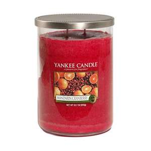 Up to 50% off Yankee Candles at Yankeedoodle.co.uk (Large Tumbler £13.69)