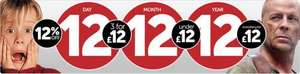 0ne day offers Play.com 12/12/12 including 12 selescted items from each department, some good deals....