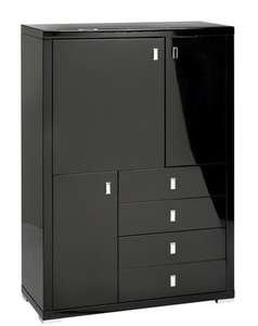 Upright gloss sideboard black - £379.00 @ Dwell