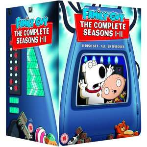 *One Day Only* Family Guy Seasons 1-11 DVD (all of them so far) for £59.99 using code @ Play.com