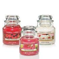 Yankee Candle - Any 3 Small Jars Only £15 @ Yankee Doodle