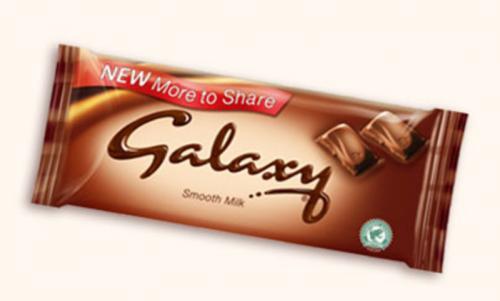 CoOp: Galaxy Chocolate (200g): Half Price: £1.19