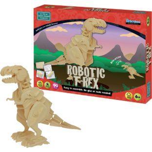 Robotic T-Rex Sound Activated Model Kit now £7 del @ Argos