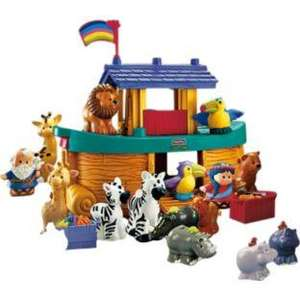 Fisher-Price Little People Noah's Ark with Extra Animals now £14.99 @ Argos