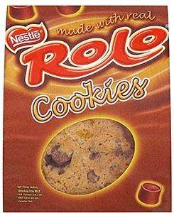 Rolo, Smarties, Chocolate chip and Raisin 5 pack fresh Cookies 2 for £1.60 @ Asda (10 large cookies!)
